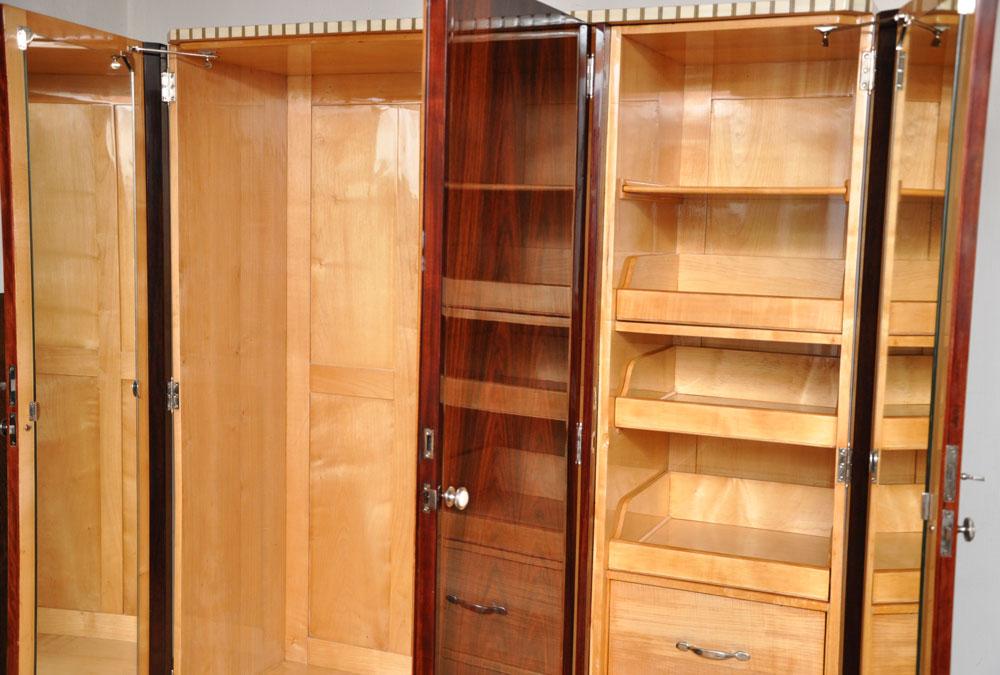art deco schrank art deco schr nke ohne h ndleraufschlag direkt vom restaurator art deco. Black Bedroom Furniture Sets. Home Design Ideas
